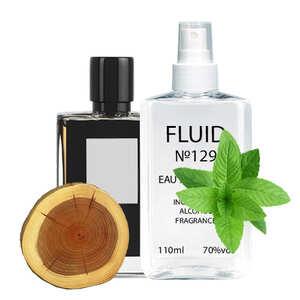 Парфуми FLUID №129 (аромат схожий на Kilian Straight to Heaven) Чоловічі 110 ml