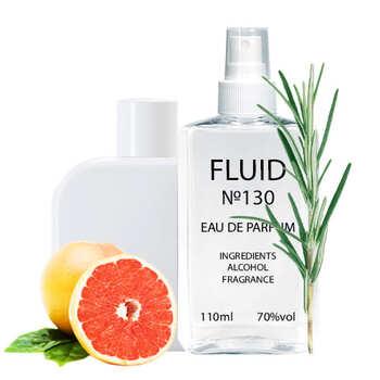 Парфуми FLUID №130 (аромат схожий на Lacoste L.12.12 Blanc) Чоловічі 110 ml