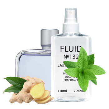 Парфуми FLUID №132 (аромат схожий на Lacoste Essential Sport) Чоловічі 110 ml