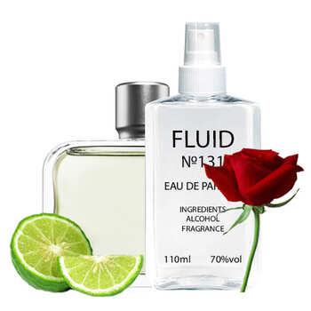 Парфуми FLUID №131 (аромат схожий на Lacoste Essential) Чоловічі 110 ml