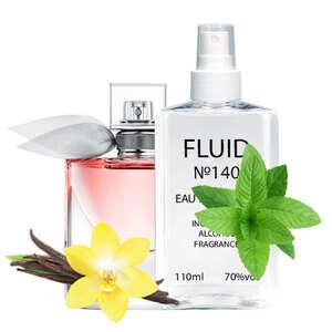 Парфуми FLUID №140 (аромат схожий на Lancome La Vie Est Belle) Жіночі 110 ml