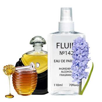 Парфуми FLUID №142 (аромат схожий на Lancome Magie Noire) Жіночі 110 ml