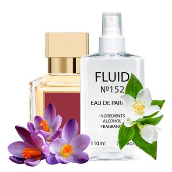 Парфуми FLUID №150 (аромат схожий на Maison Francis Kurkdjian Paris Baccarat Rouge 540) Унісекс 110 ml