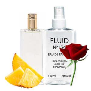 Парфуми FLUID №154 (аромат схожий на  Mazzolari Nero) Чоловічі 110 ml