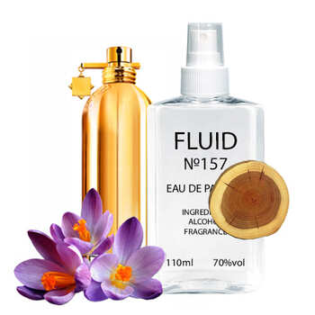 Парфуми FLUID №157 (аромат схожий на Montale Aoud Leather) Унісекс 110 ml