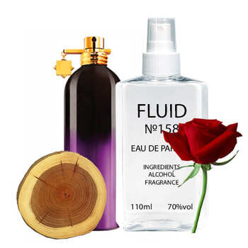 Парфуми FLUID №158 (аромат схожий на Montale Aoud Sense) Унісекс 110 ml