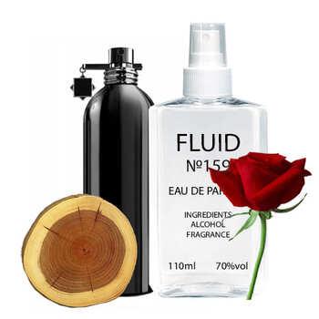Парфуми FLUID №159 (аромат схожий на Montale Black Aoud) Чоловічі 110 ml