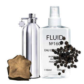 Парфуми FLUID №160 (аромат схожий на Montale Black Musk) Женские 110 ml