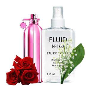Парфуми FLUID №163 (аромат схожий на Montale Crystal Flowers) Жіночі 110 ml