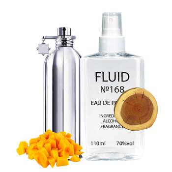 Парфуми FLUID №168 (аромат схожий на Montale Mango Manga) Унісекс 110ml