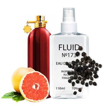 Парфуми FLUID №173 (аромат схожий на Montale Red Vetiver) Чоловічі 110 ml