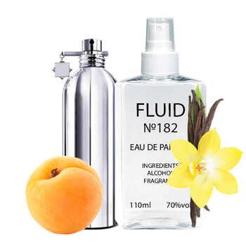 Парфуми FLUID №182 (аромат схожий на Montale Vanilla Extasy) Унісекс 110 ml