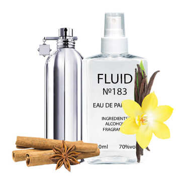Парфуми FLUID №183 (аромат схожий на Montale Vanille Absolu) Унісекс 110 ml