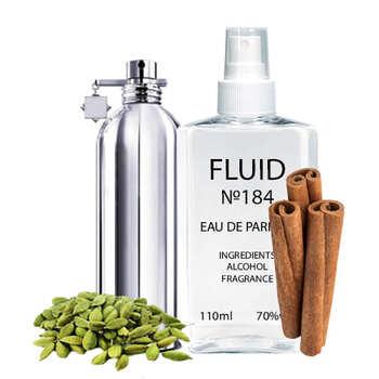 Парфуми FLUID №184 (аромат схожий на Montale Wood and Spices) Унісекс 110 ml