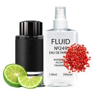 Парфуми FLUID №249 (аромат схожий на Montblanc Explorer) Чоловічі 110 ml