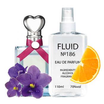 Парфуми FLUID №186 (аромат схожий на Moschino Funny) Жіночі 110 ml