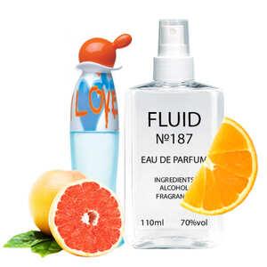 Парфуми FLUID №187 (аромат схожий на Moschino I Love Love) Жіночі 110 ml