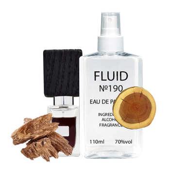 Парфуми FLUID №190 (аромат схожий на Nasomatto Black Afgano) Унісекс 110 ml