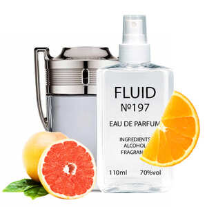 Парфуми FLUID №197 (аромат схожий на Paco Rabanne Invictus) Чоловічі 110 ml