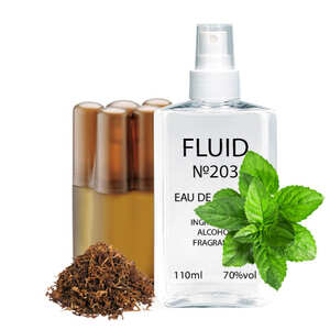 Парфуми FLUID №203 (аромат схожий на Remy Latour Cigar) Чоловічі 110 ml