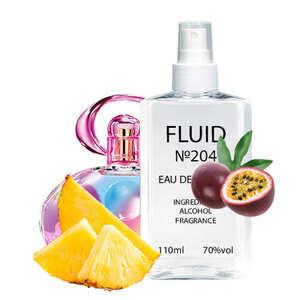 Парфуми FLUID №204 (аромат схожий на Salvatore Ferragamo Incanto Shine) Жіночі 110 ml