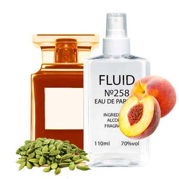 Парфуми FLUID №258 (аромат схожий на Tom Ford Bitter Peach) Жіночі 110 ml
