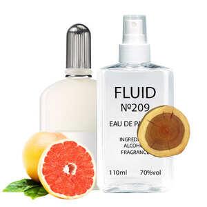 Парфуми FLUID №209 (аромат схожий на om Ford Grey Vetiver) Чоловічі 110 ml