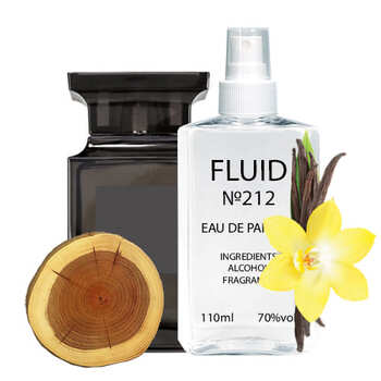 Парфуми FLUID №212 (аромат схожий на Tom Ford Oud Wood) Унісекс 110 ml