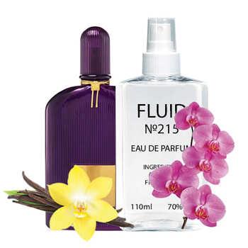 Парфуми FLUID №215 (аромат схожий на Tom Ford Velvet Orchid) Жіночі110 ml
