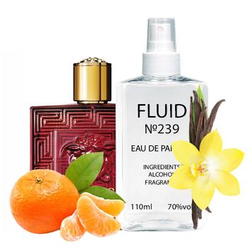 Парфуми FLUID №239 (аромат схожий на Versace Eros Flame) Чоловічі 110 ml