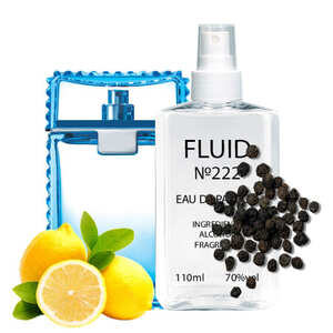 Парфуми FLUID №222 (аромат схожий на Versace Man Eau Fraiche) Чоловічі 110 ml