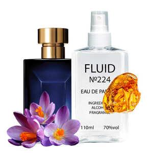 Парфуми FLUID №224 (аромат схожий на Versace Pour Homme Dylan Blue) Чоловічі 110 ml