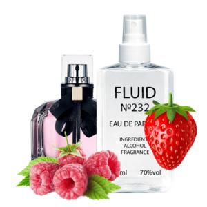 Парфуми FLUID №232 (аромат схожий на Yves Saint Laurent Mon Paris) Жіночі 110 ml