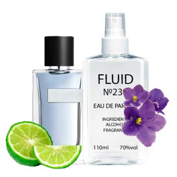 Парфуми FLUID №233 (аромат схожий на Yves Saint Laurent Y Men) Чоловічі 110 ml