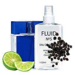 Духи FLUID №5 (аромат похож на Armand Basi In Blue) Мужские 110 ml