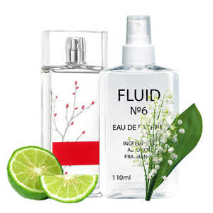 Духи FLUID №6 (аромат похож на Armand Basi In Red) Женские 110 ml