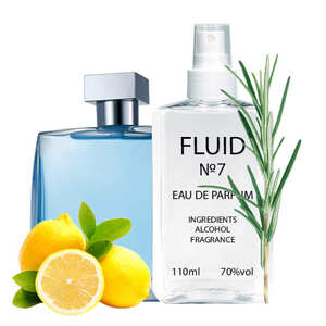 Духи FLUID №7 (аромат похож на Azzaro Chrome) Мужские 110 ml