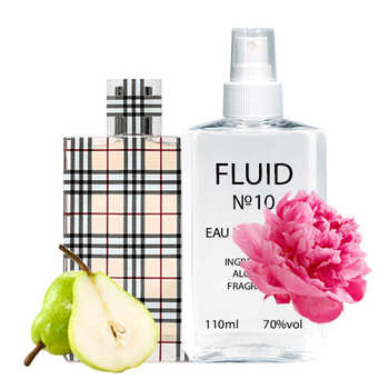 Духи FLUID №10 (аромат похож на Burberry Brit Burberry) Женские 110 ml