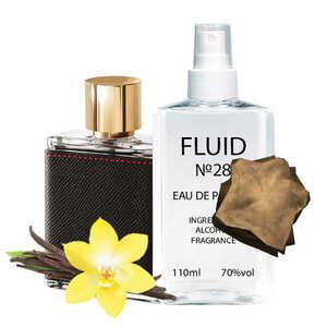 Духи FLUID №28 (аромат похож на Carolina Herrera CH Men) Мужские 110 ml
