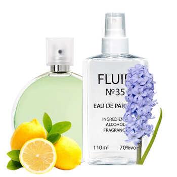 Духи FLUID №35 (аромат похож на Chanel Chance Eau Fraiche) Женские 110 ml