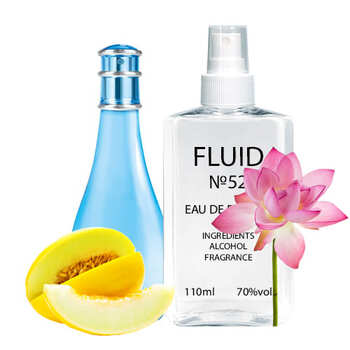 Духи FLUID №52 (аромат похож на Davidoff Cool Water Woman) Женские 110 ml