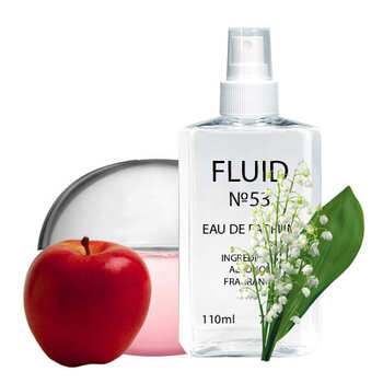 Духи FLUID №53 (аромат похож на Donna Karan New York Be Delicious Fresh Blossom) Женские 110 ml
