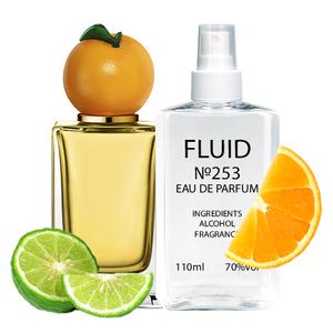 Духи FLUID №253 (аромат похож на Dolce&Gabbana Orange) Унисекс 110 ml