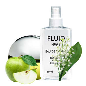 Духи FLUID №61 (аромат похож на Donna Karan New York Be Delicious) Женские 110 ml