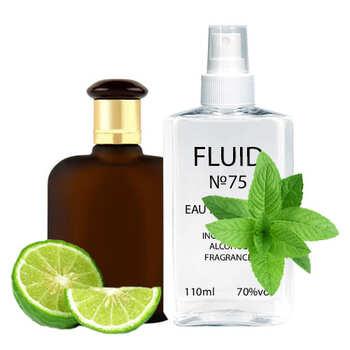 Духи FLUID №75 (аромат похож на Evaflor Double Whisky) Мужские 110 ml