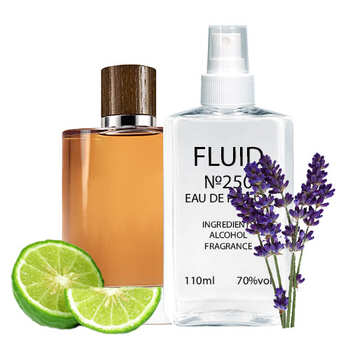 Духи FLUID №250 (аромат похож на Giorgio Armani Acqua di Gio Absolu) Мужские 110 ml