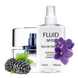 Духи FLUID №97 (аромат похож на Gucci Eau De Parfum II) Женские 110 ml