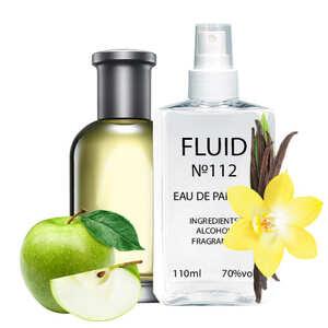 Духи FLUID №112 (аромат похож на Hugo Boss Bottled № 6) Мужские 110 ml