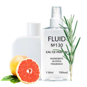 Духи FLUID №130 (аромат похож на Lacoste L.12.12 Blanc) Мужские 110 ml