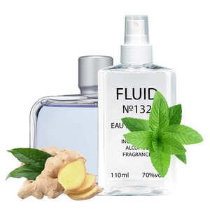 Духи FLUID №132 (аромат похож на Lacoste Essential Sport) Мужские 110 ml